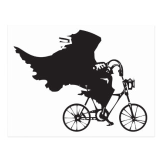 Death on a Bicycle Postcard