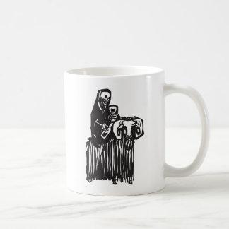 Death on a Goat Coffee Mug