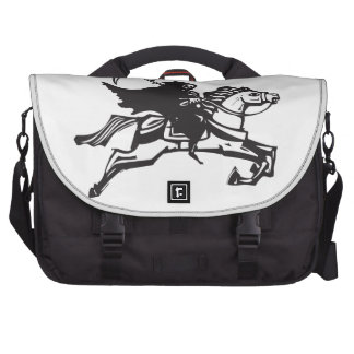 Death on a white horse commuter bag