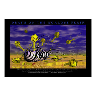 Death on the Agarose Plains Posters