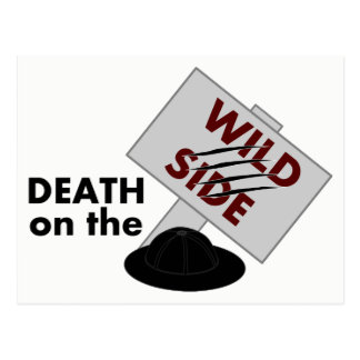 Death on the Wild Side postcard