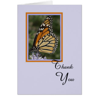 Death or Sympathy Thank You Card -- Butterfly
