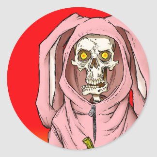 """""""Death or Treat"""" by HATE Classic Round Sticker"""