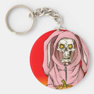 """Death or Treat"" by HATE Basic Round Button Keychain"