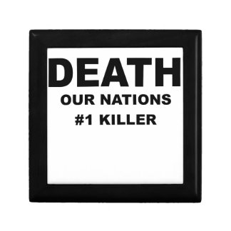 DEATH OUR NATIONS NUMBER ONE KILLER png Gift Boxes