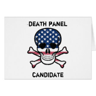 Death Panel Candidate Card