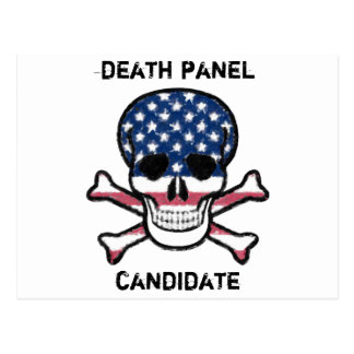 Death Panel Candidate Postcard