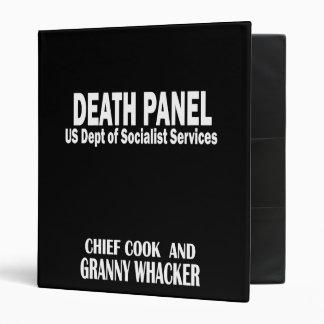 Death Panel - Granny Whacker 3 Ring Binder