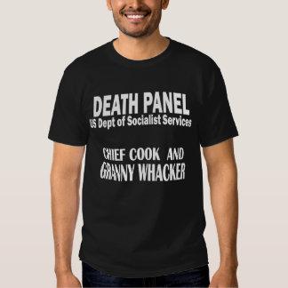Death Panel - Granny Whacker T Shirt
