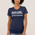 Death Panel - Kill Floor Supervisor T Shirts