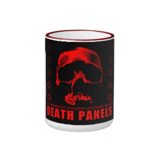 Death Panels Ringer Coffee Mug