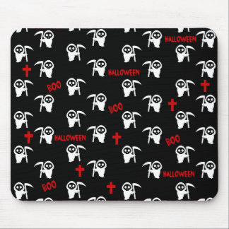 Death pattern - Halloween Mouse Pad