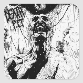 Death Pit Nuclear Winter Stickers
