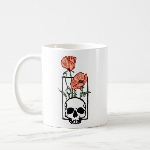 Death & Poppy Mug