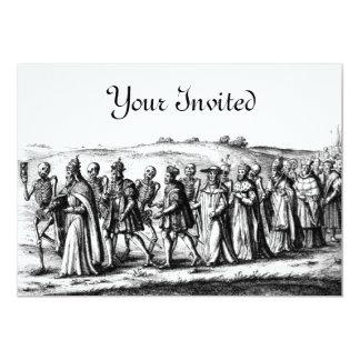 Death Procession Invitation
