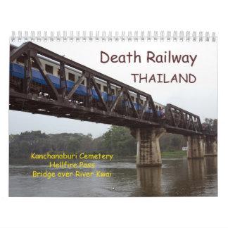 Death Railway Thailand Calendar
