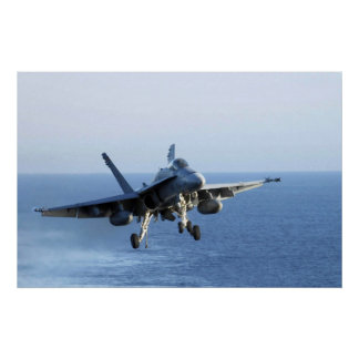 DEATH RATTLERS F-18 POSTER