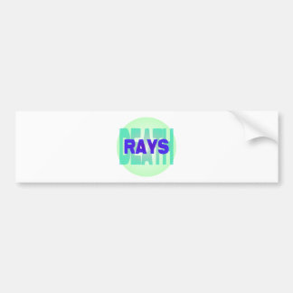 death rays car bumper sticker