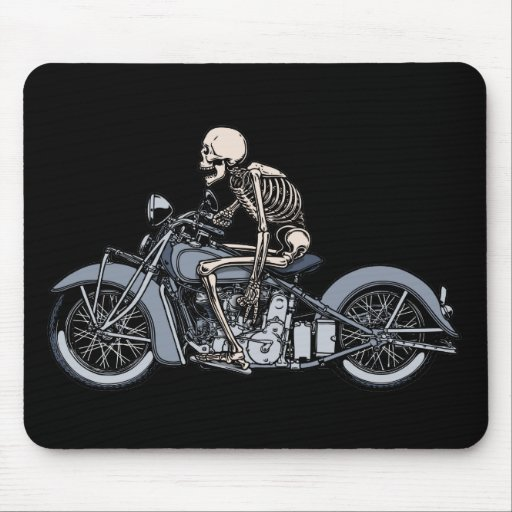Death Rider III Mouse Pads