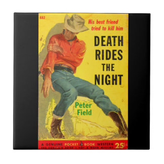 Death Rides the Night western book cover Tile