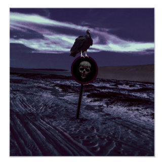 Death Road Dark Scene Poster