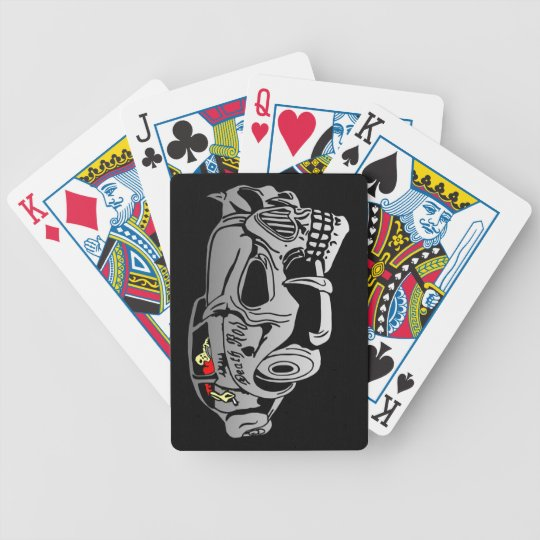 Death Rod Bicycle Playing Cards