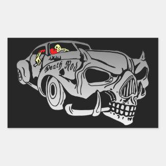 Death Rod Rectangular Sticker