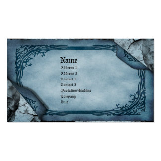 Death s Calling Card Gothic Business Card