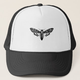 Death`s head hawkmoth trucker hat