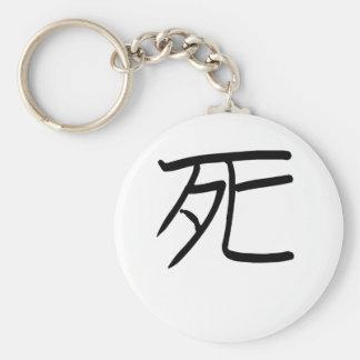 Death - Shi - Japanese Kanji Key Chain
