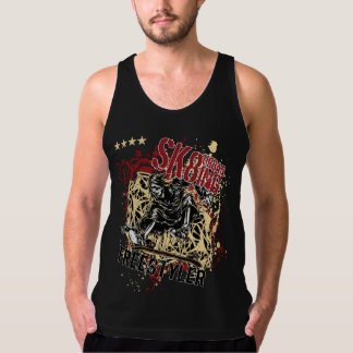 Death skating tank top
