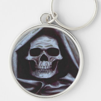 Death Skull Keychain