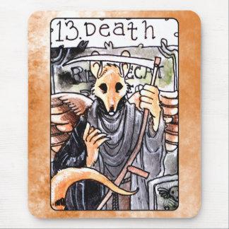 Death Tarot Card Mouse Pad