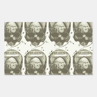 Death & Taxes - Moss Rectangular Sticker