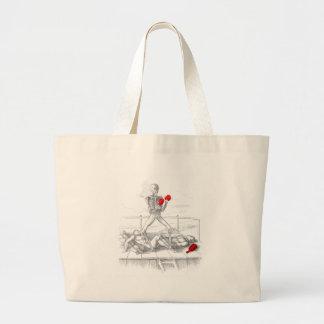 Death the Fisticuffs Champion Canvas Bag