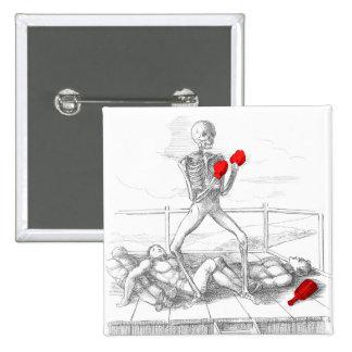 Death the Fisticuffs Champion Pinback Button
