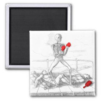 Death the Fisticuffs Champion Refrigerator Magnet
