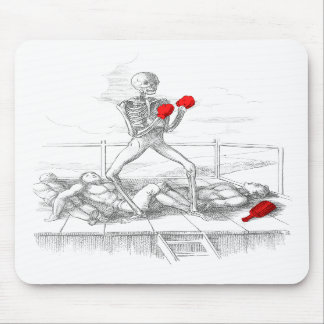 Death the Fisticuffs Champion Mouse Pad