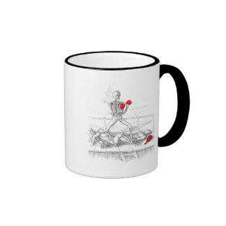 Death the Fisticuffs Champion Coffee Mugs