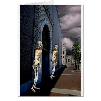 Death Through the Door Card