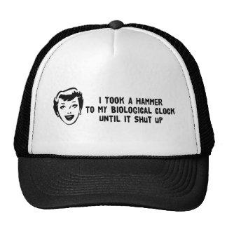 Death To Biological Clocks Mesh Hat