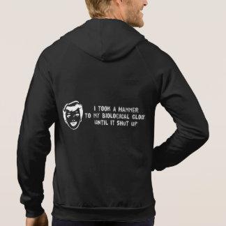 Death To Biological Clocks Hooded Sweatshirts