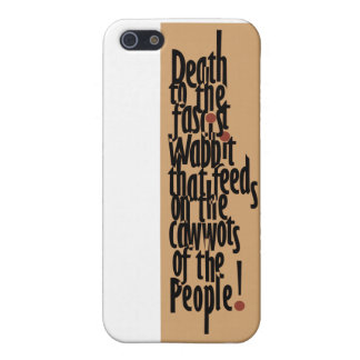 Death to the Fascist Wabbit! iPhone 5 Cover