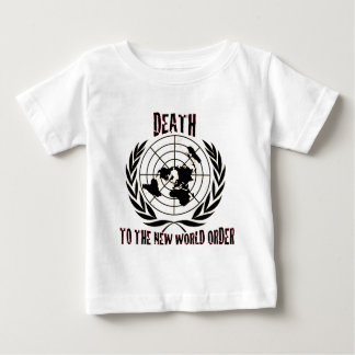 DEATH TO THE NEW WORLD ORDER BABY T-Shirt