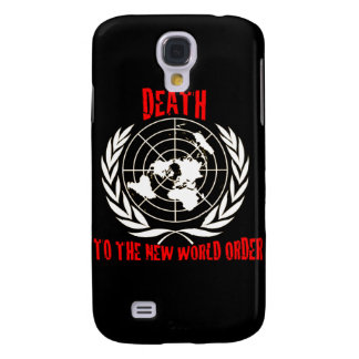 DEATH TO THE NEW WORLD ORDER SAMSUNG GALAXY S4 COVERS