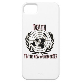 DEATH TO THE NEW WORLD ORDER iPhone 5 COVER