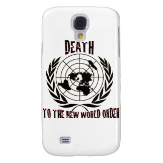 DEATH TO THE NEW WORLD ORDER SAMSUNG GALAXY S4 CASE