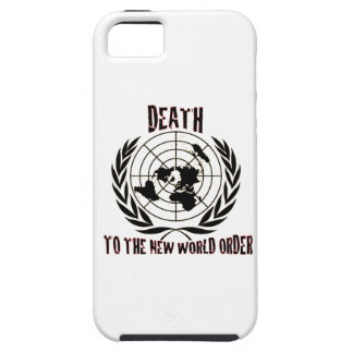 DEATH TO THE NEW WORLD ORDER iPhone 5 COVERS