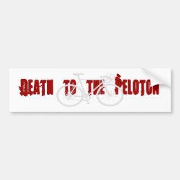 Death to the Peloton Bumper Sticker