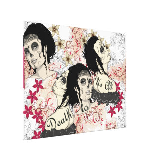 Death to us All Canvas Print
